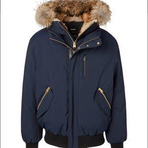 MACKAGE - Dixon-F Down Bomber Jacket With Fur Trim